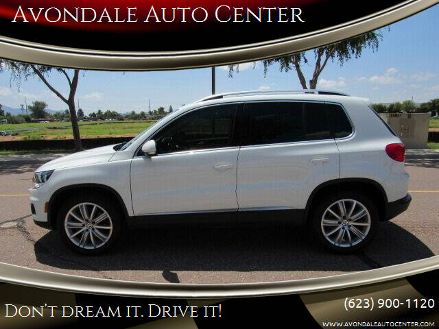 2015 Volkswagen Tiguan for sale at Avondale Auto Center in Avondale AZ