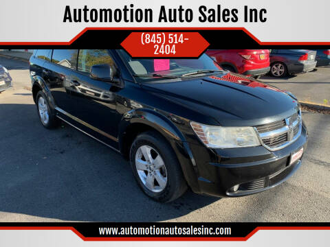 2010 Dodge Journey for sale at Automotion Auto Sales Inc in Kingston NY