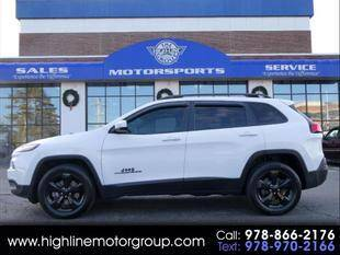 2018 Jeep Cherokee for sale at Highline Group Motorsports in Lowell MA