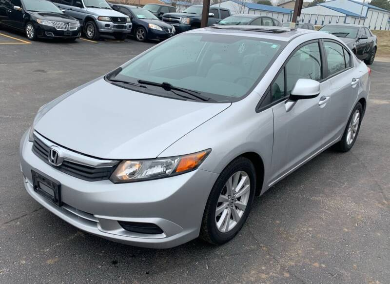 2012 Honda Civic for sale at Eagle Auto LLC in Green Bay WI