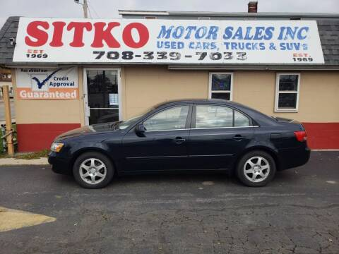 2006 Hyundai Sonata for sale at SITKO MOTOR SALES INC in Cedar Lake IN
