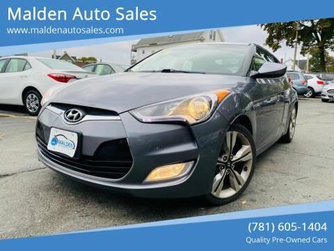 2016 Hyundai Veloster for sale at Malden Auto Sales in Malden MA