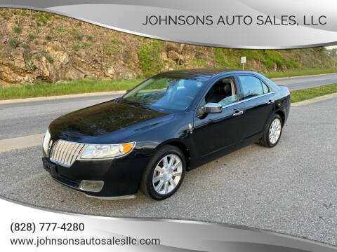 2011 Lincoln MKZ for sale at Johnsons Auto Sales, LLC in Marshall NC