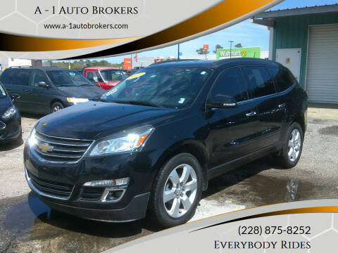 2017 Chevrolet Traverse for sale at A - 1 Auto Brokers in Ocean Springs MS