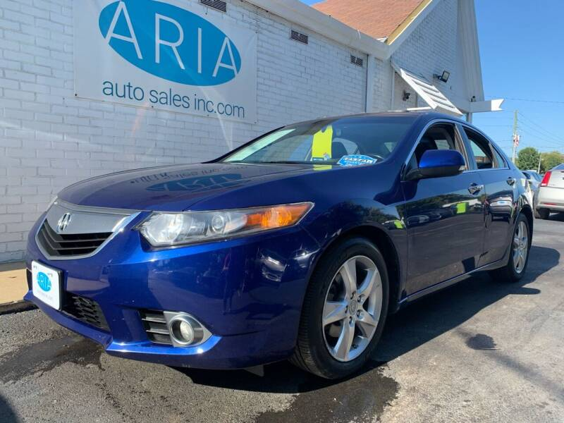 2013 Acura TSX for sale at ARIA AUTO SALES in Raleigh NC