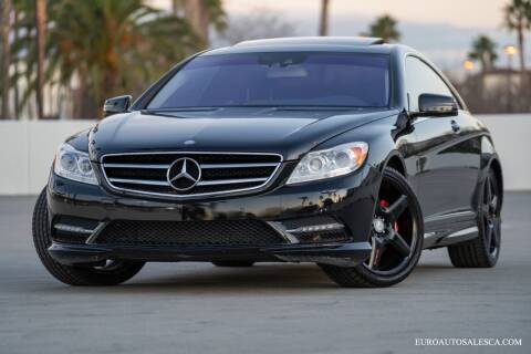 2013 Mercedes-Benz CL-Class for sale at Euro Auto Sales in Santa Clara CA