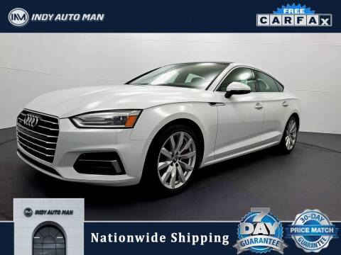 2018 Audi A5 Sportback for sale at INDY AUTO MAN in Indianapolis IN