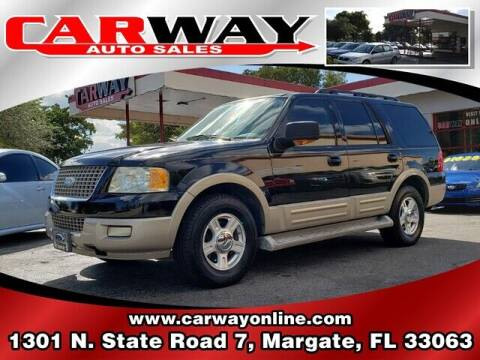 2005 Ford Expedition for sale at CARWAY Auto Sales in Margate FL