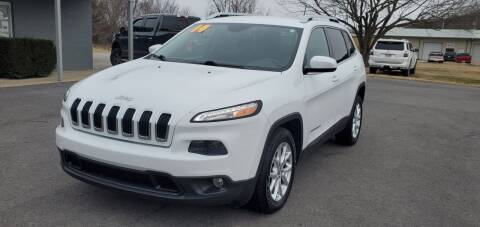 2014 Jeep Cherokee for sale at Jacks Auto Sales in Mountain Home AR