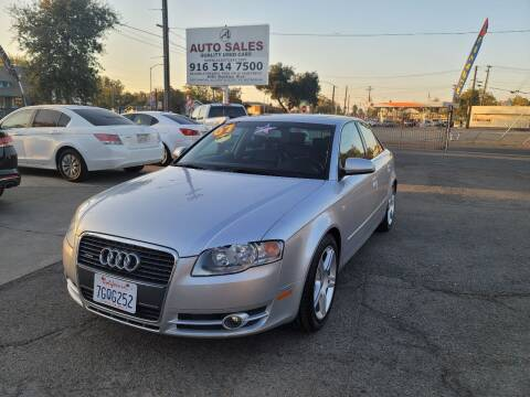 2007 Audi A4 for sale at A1 Auto Sales in Sacramento CA
