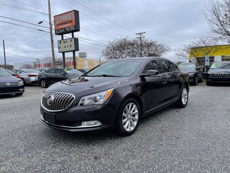 2014 Buick LaCrosse for sale at Autohaus of Greensboro in Greensboro NC