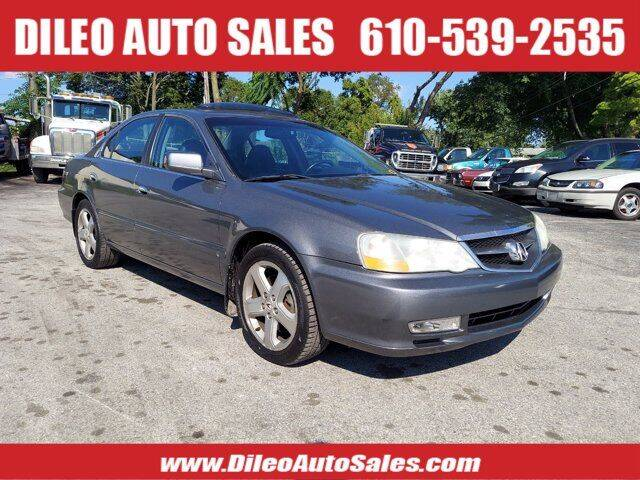 2003 Acura TL for sale at Dileo Auto Sales in Norristown PA