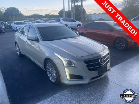 2014 Cadillac CTS for sale at PHIL SMITH AUTOMOTIVE GROUP - Toyota Kia of Vero Beach in Vero Beach FL