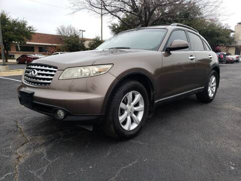 2004 Infiniti FX35 for sale at ZNM Motors in Irving TX