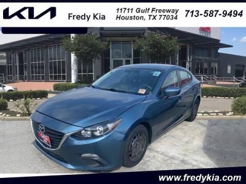 2016 Mazda MAZDA3 for sale at FREDY KIA USED CARS in Houston TX