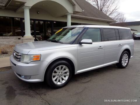 2011 Ford Flex for sale at DEALS UNLIMITED INC in Portage MI