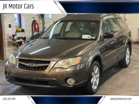2008 Subaru Outback for sale at JK Motor Cars in Pittsburgh PA