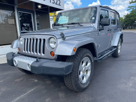 2013 Jeep Wrangler Unlimited for sale at Mainstreet Motor Company in Hopkins MN