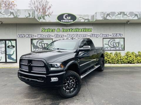 2016 RAM Ram Pickup 2500 for sale at Greenway Auto Sales in Jacksonville FL