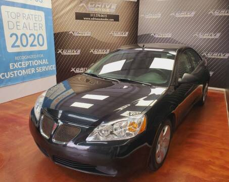 2009 Pontiac G6 for sale at X Drive Auto Sales Inc. in Dearborn Heights MI