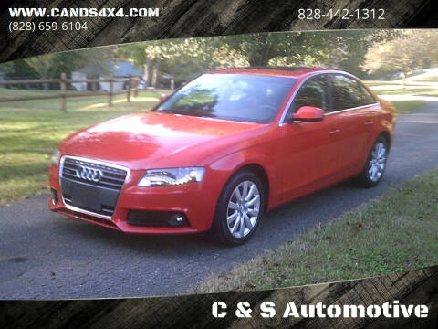 2011 Audi A4 for sale at C & S Automotive in Nebo NC