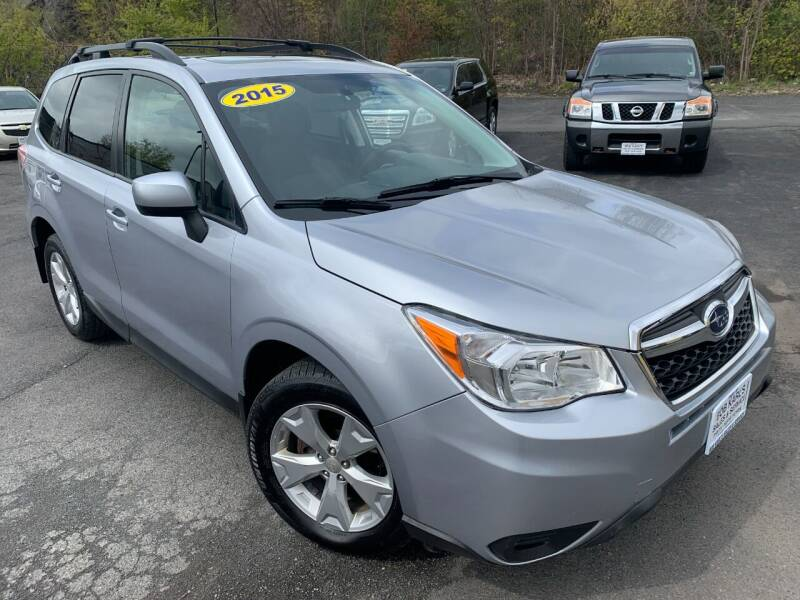 2015 Subaru Forester for sale at Bob Karl's Sales & Service in Troy NY