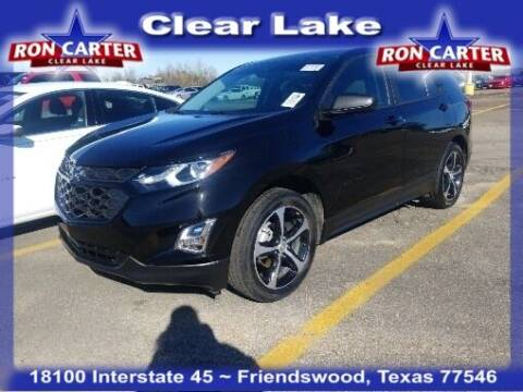 2020 Chevrolet Equinox for sale at Ron Carter  Clear Lake Used Cars in Houston TX