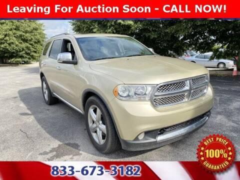 2011 Dodge Durango for sale at Glenbrook Dodge Chrysler Jeep Ram and Fiat in Fort Wayne IN