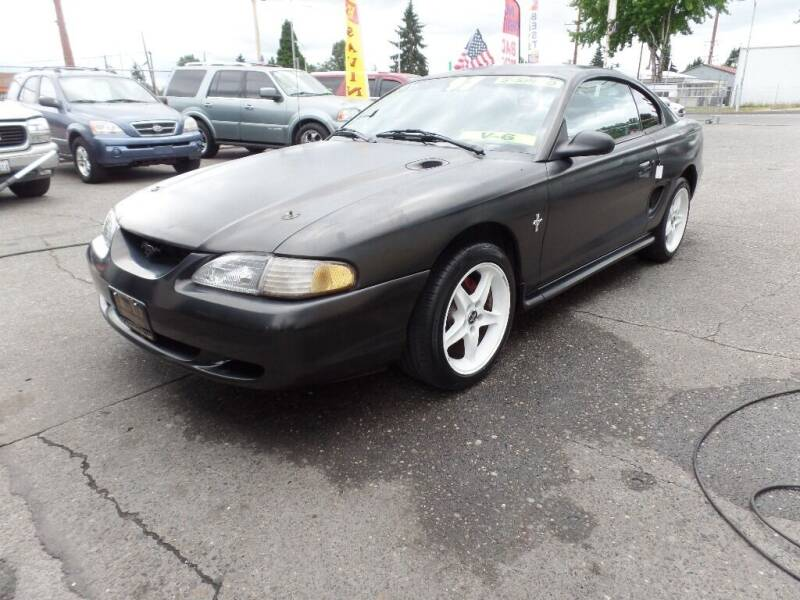 1997 Ford Mustang for sale at Gold Key Motors in Centralia WA