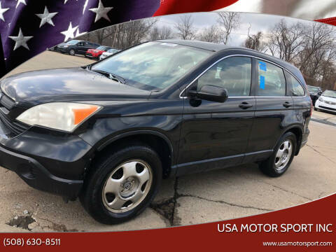 2008 Honda CR-V for sale at USA Motor Sport inc in Marlborough MA
