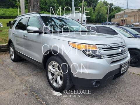 2013 Ford Explorer for sale at Rosedale Auto Sales Incorporated in Kansas City KS
