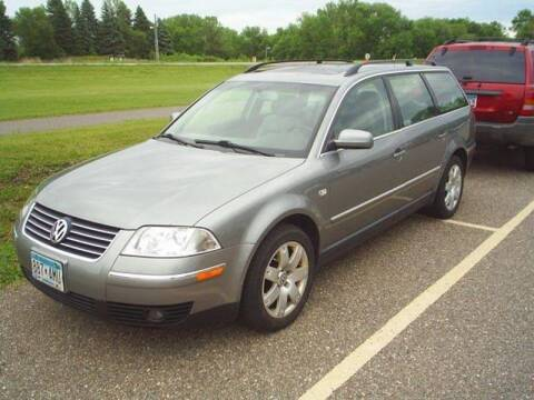 2002 Volkswagen Passat for sale at Dales Auto Sales in Hutchinson MN