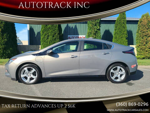 2017 Chevrolet Volt for sale at AUTOTRACK INC in Mount Vernon WA