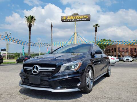 2016 Mercedes-Benz CLA for sale at A MOTORS SALES AND FINANCE in San Antonio TX