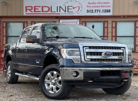 2014 Ford F-150 for sale at REDLINE AUTO SALES LLC in Cedar Creek TX