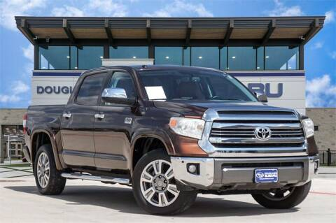 2016 Toyota Tundra for sale at Douglass Automotive Group - Douglas Ford in Clifton TX