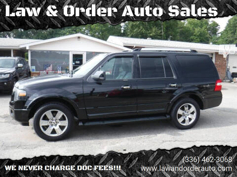 2009 Ford Expedition for sale at Law & Order Auto Sales in Pilot Mountain NC