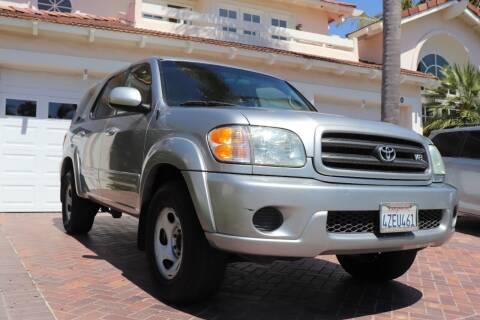 2002 Toyota Sequoia for sale at Newport Motor Cars llc in Costa Mesa CA