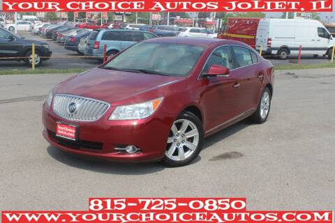2011 Buick LaCrosse for sale at Your Choice Autos - Joliet in Joliet IL