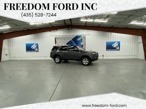 2016 Toyota 4Runner for sale at Freedom Ford Inc in Gunnison UT