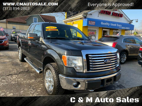 2012 Ford F-150 for sale at C & M Auto Sales in Detroit MI