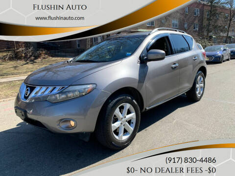 2010 Nissan Murano for sale at FLUSHIN AUTO in Flushing NY