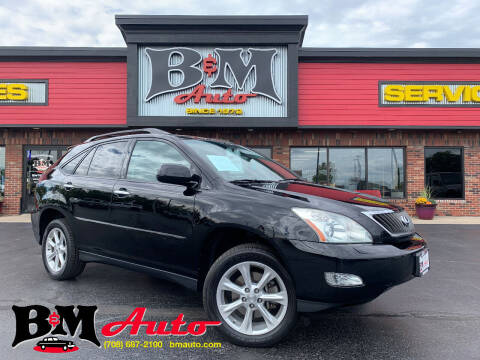 2008 Lexus RX 350 for sale at B & M Auto Sales Inc. in Oak Forest IL