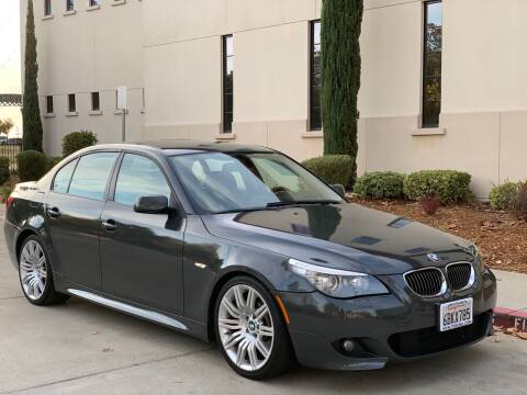 2008 BMW 5 Series for sale at Auto King in Roseville CA