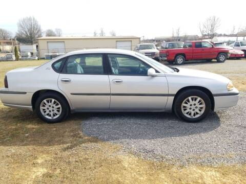 2004 Chevrolet Impala for sale at CAR-MART AUTO SALES in Maryville TN