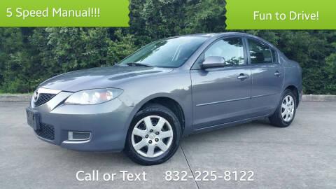 2009 Mazda MAZDA3 for sale at Houston Auto Preowned in Houston TX