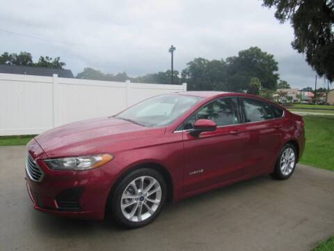 2019 Ford Fusion Hybrid for sale at D & R Auto Brokers in Ridgeland SC