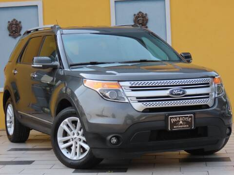 2015 Ford Explorer for sale at Paradise Motor Sports LLC in Lexington KY