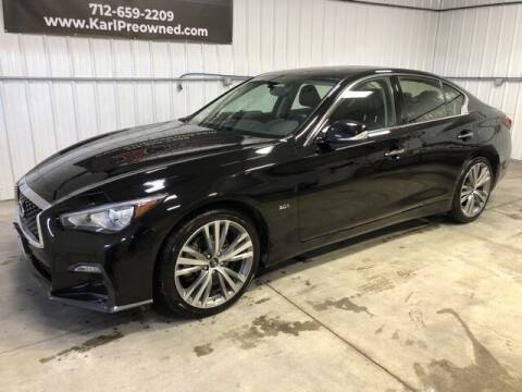 2018 Infiniti Q50 for sale at Karl Pre-Owned in Glidden IA