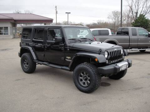 2015 Jeep Wrangler Unlimited for sale at Turn Key Auto in Oshkosh WI